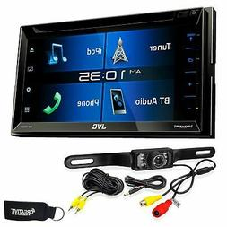 "JVC KW-V330BT 6.8"" Double DIN Bluetooth in-Dash DVD/CD/AM/FM"