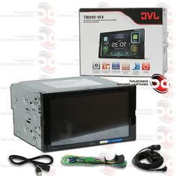 "JVC KW-V840BT 2DIN 6.8"" LCD DVD BLUETOOTH APPLE CARPLAY ANDR"