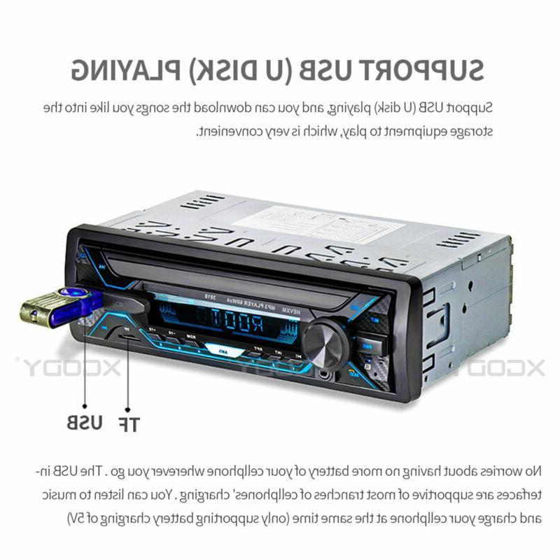 1 Radio MP3 FM TF/USB/AUX Remote Head
