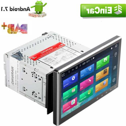 "10.1"" Double 2DIN Car Android 7.1 Stereo Radio DVD Player 4G"
