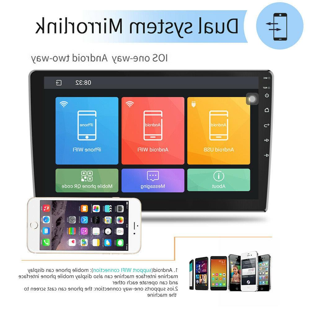 """10.1"""" Car Din Android GPS Stereo Navi WiFi Quad"""