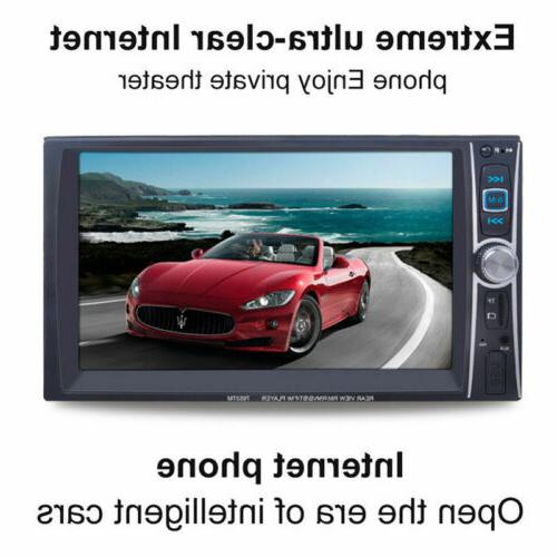 "1080P HD Bluetooth Stereo Radio 7"" HD MP5 FM Player Screen"
