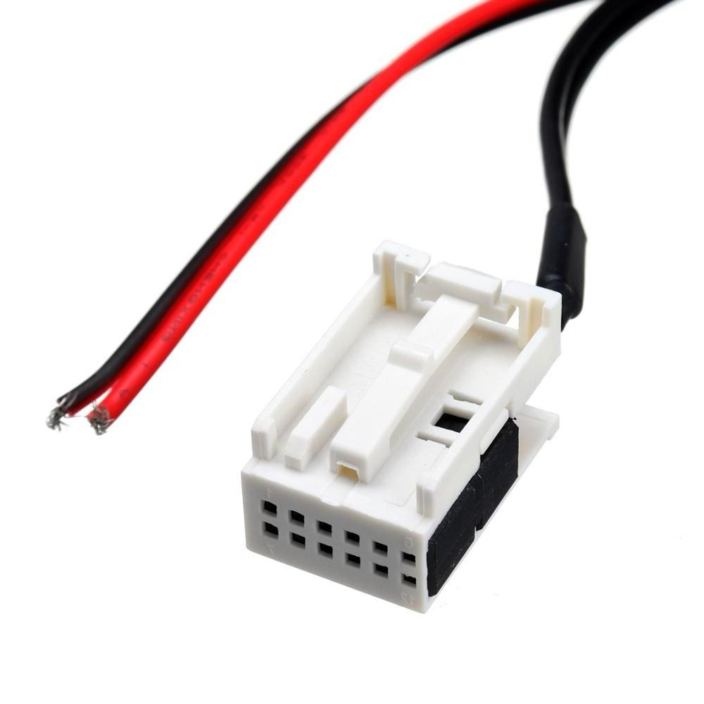 12Pin Bluetooth Module Radio Aux Cable <font><b>Adapter</b></font> For 207 407 For Citroen C2 C3 RD4