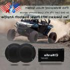 12V Marine Stereo Audio Motorcycle Bluetooth Amplifier 4-Cha