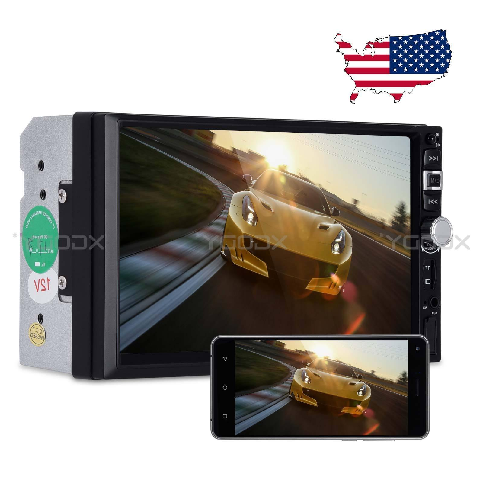 """2 DIN 7"""" Car Stereo Radio MP5 Player Bluetooth Touch Screen"""