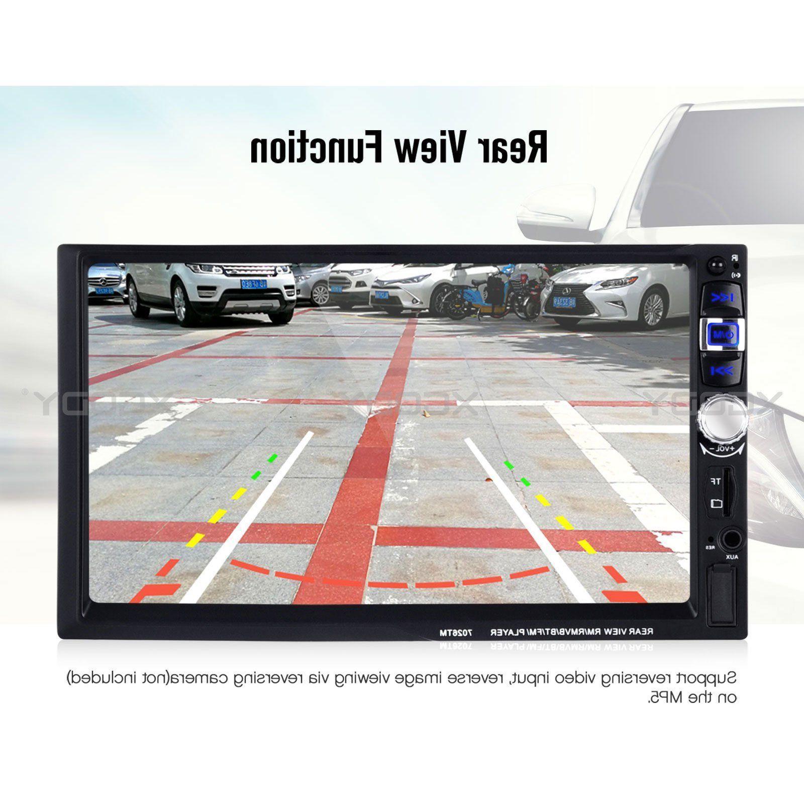 "2 7"" Stereo Player Bluetooth Auto Camera 7026"
