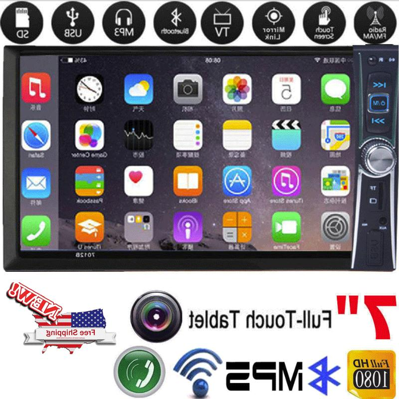 2-DIN 7inch MP5 Player TV Bluetooth Touch Radio