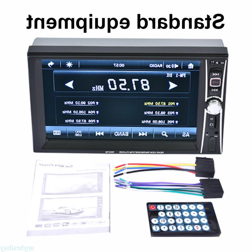 2-DIN 7inch Car MP5 Bluetooth Touch Radio USB/AUX