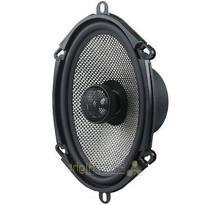 "2 Pack American 6x8"" Way Coaxial Car Speakers 150W"