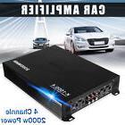 2000 Watt 4 Channel  Class AB Mono Stereo Car Audio Amplifie
