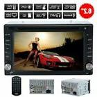 """2018 Bluetooth 6.2"""" Double 2DIN Car Radio Stereo DVD Player"""