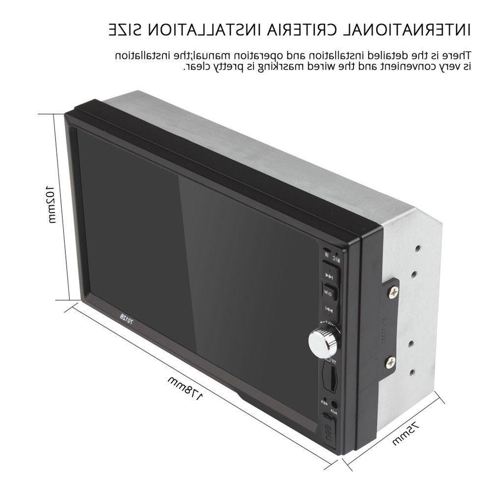 1x MP5 Player Screen Stereo Camera