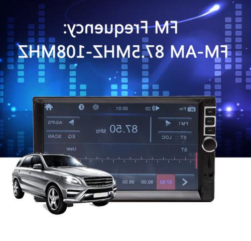"Car Double 7"" Link Audio AM Touch Screen"