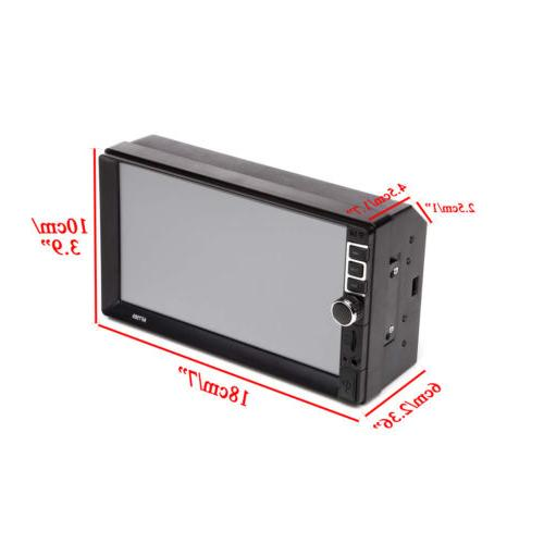 "Car 7"" Mirror Audio Touch"