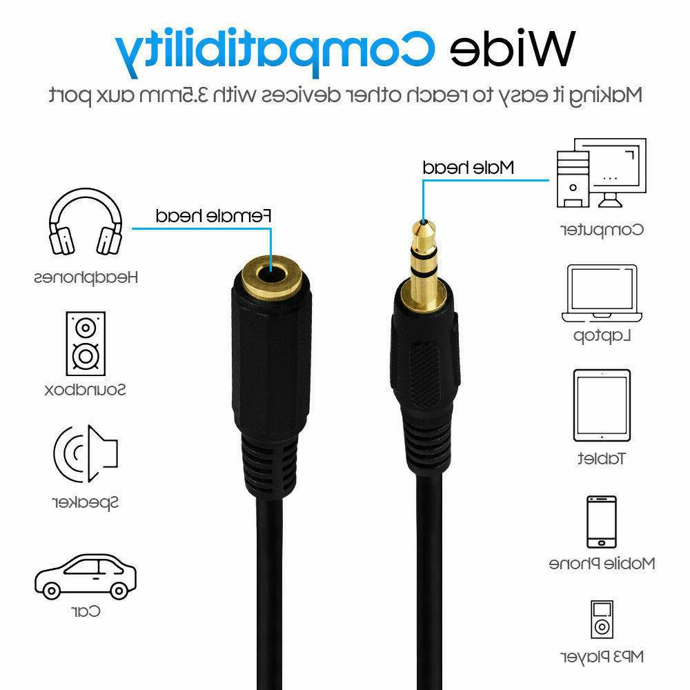 3.5mm Stereo to Female MP3 LOT