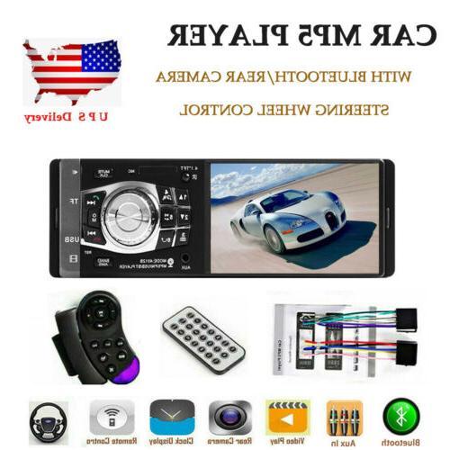 4 1 car radio stereo bluetooth fm