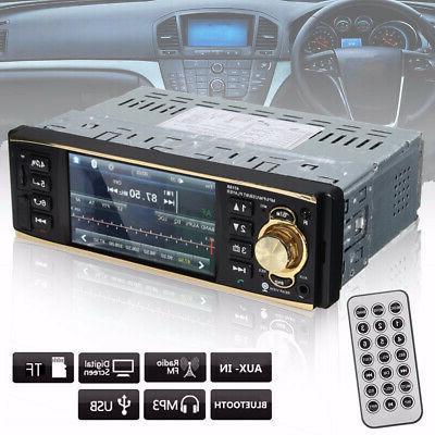 4'' 1 Din bluetooth LCD Car Stereo MP5 Audio In-Dash Head Un