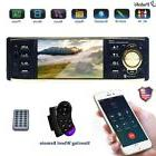 "4.1"" HD Car Stereo Radio MP3 MP4 MP5 Audio Player 1Din FM Bl"