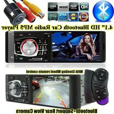 "4.1"" HD Car Stereo Radio MP5 Player Unit Bluetooth DVR input"
