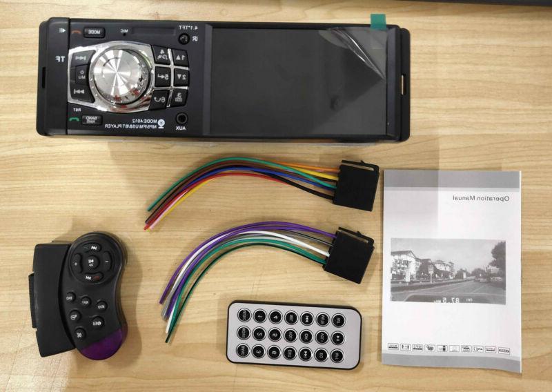 "4.1"" HD Car Stereo Bluetooth USB"