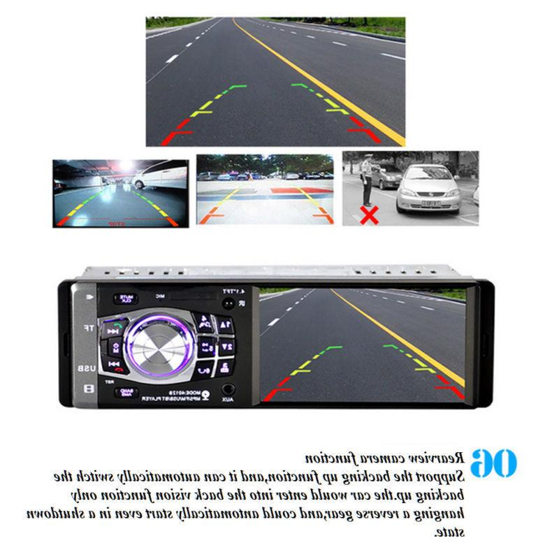 "4.1"" Single Car MP5 AUX Camera"