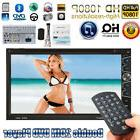4*52W 7''in Ultra HD 1080P Double 2DIN Car Stereo DVD Player