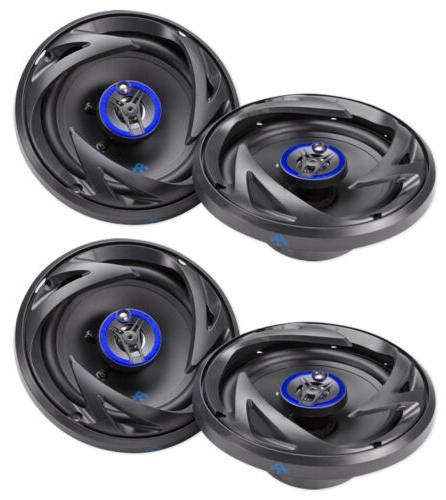 "AUTOTEK ATS653 6.5"" 1200 Watt 3-Way Full-Range Car Stereo S"