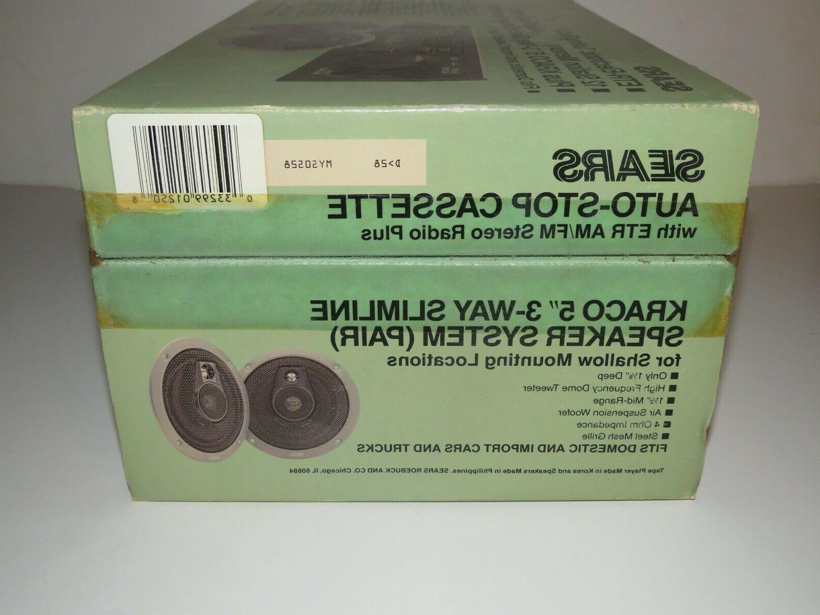 SEARS 50528 ETR Speakers In