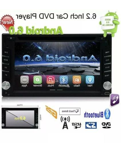"""6.2"""" Android 6.0 4G WiFi Double Car Player GPS"""