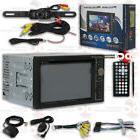 "POWER ACOUSTIK 6.2"" DVD CD BLUETOOTH NAVIGATION STEREO FREE"