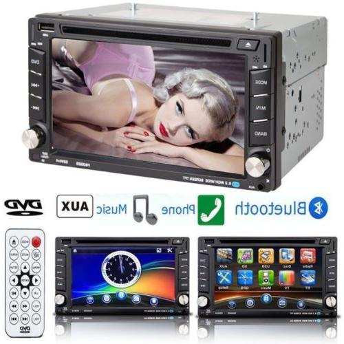 6.2'' Double Stereo DVD Bluetooth