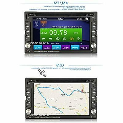 6.2-inch Double Navigation For Universal Car Free Wireless Backup