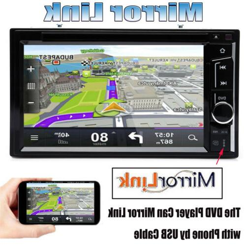 """6.2"""" Android7.1 WiFi 2DIN Radio Player RearCamera"""