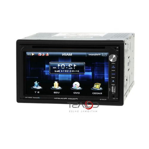 "Power 6.5"" USB Steering Input Car Stereo Receiver"