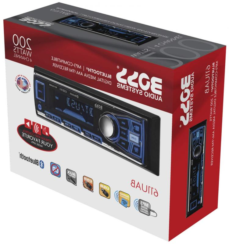 Boss Audio Multimedia Single Bluetooth