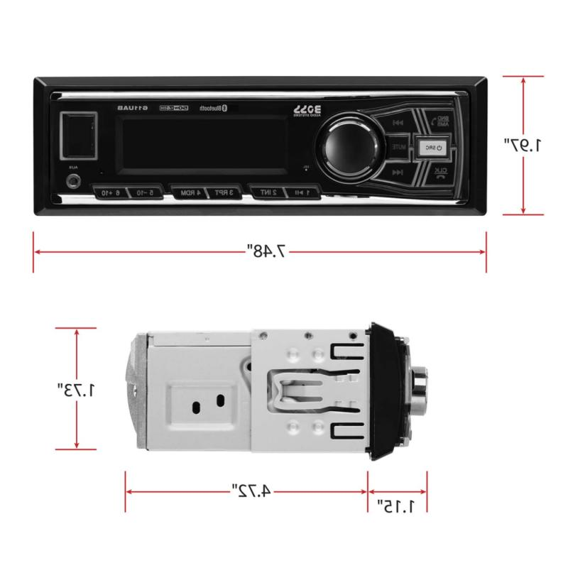 Boss Systems Multimedia Stereo - Single Din, Hand