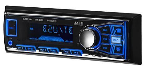 BOSS 638BCK Car Stereo Single Din, Bluetooth, MP3/USB/WMA Radio, 2 Full Speakers