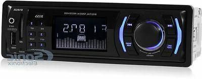 Boss 612UA Single-Din Digital Media Car Stereo Receiver w/ U