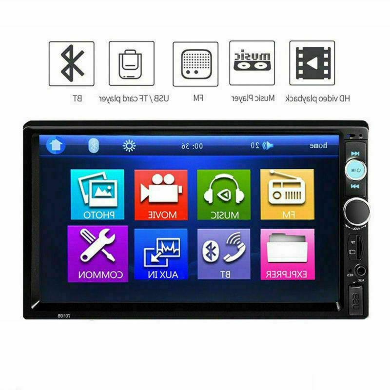 "7"" Din HD 1080P Touch FM/MP5 Radio In-Dash"