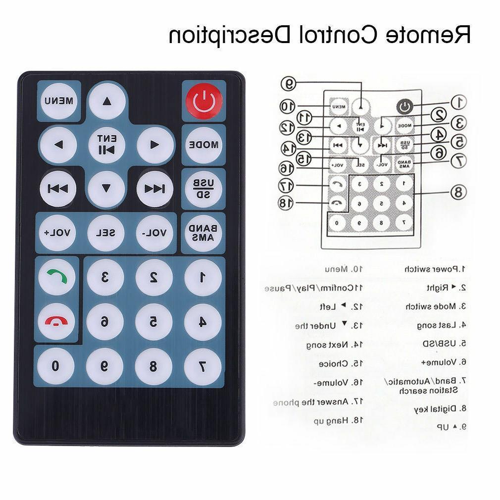 "7"" 2DIN 7018B Car MP5 MP3 Touch HD"