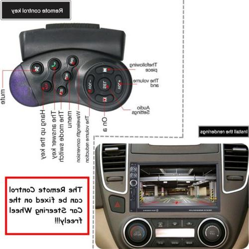 "7"" 2DIN In Touch stereo Radio CD Player EK"