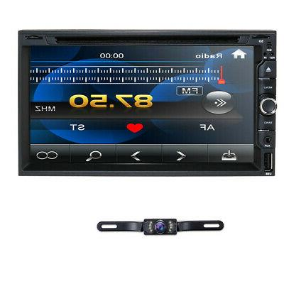 """Touch Screen Sony Lens Double 2Din 7"""" Car Stereo Radio DVD P"""