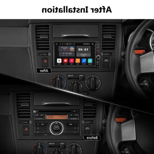 "7"" Universal Car GPS Navi Octa Core WIFI NO CD Player"