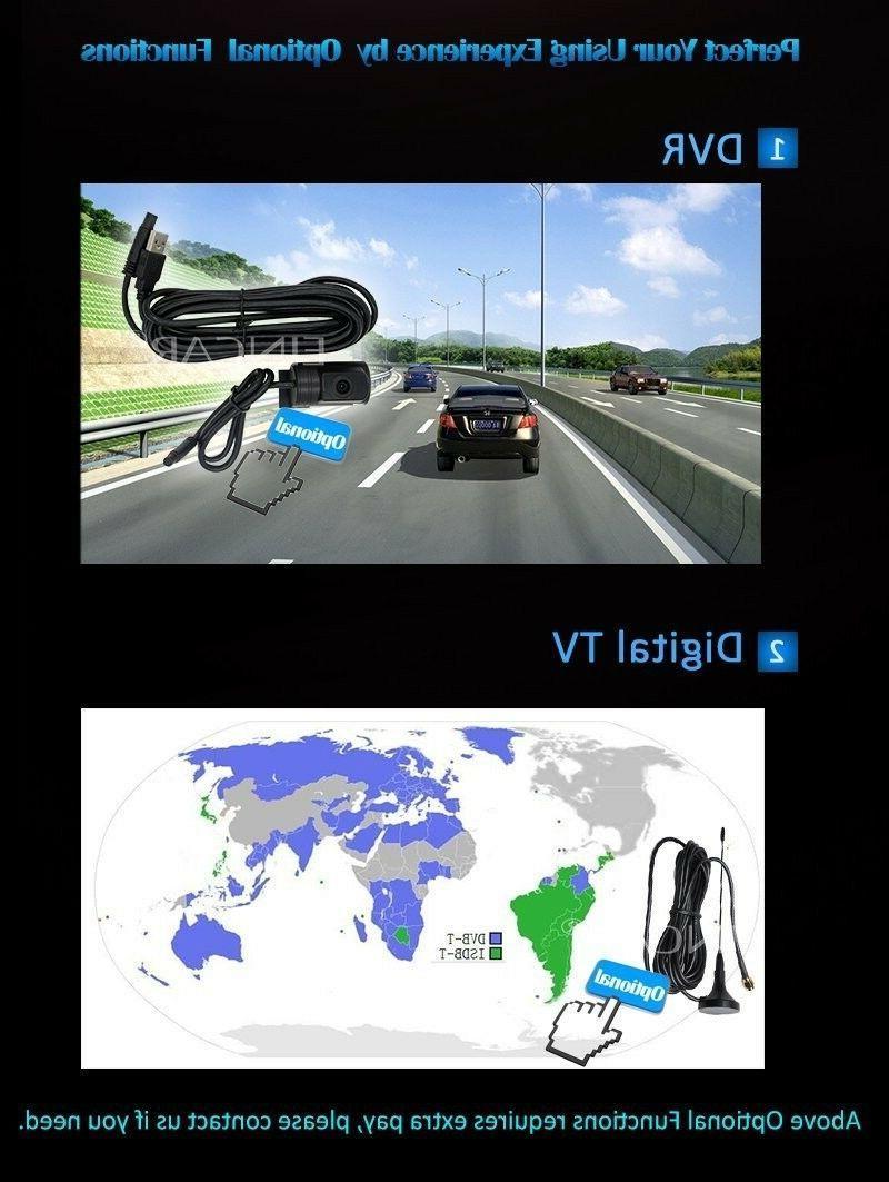 EinCar 7'' Quad Core Double Car Radio Stereo In Dash Head unit