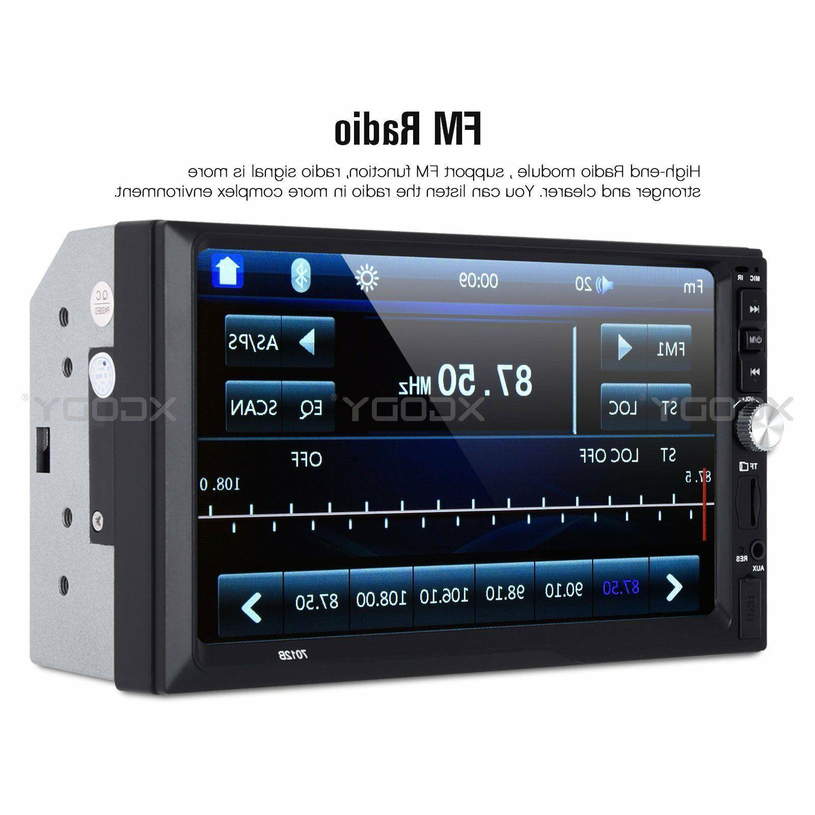 """7"""" Car Stereo MP5 Bluetooth Link FM 2 CAM US"""