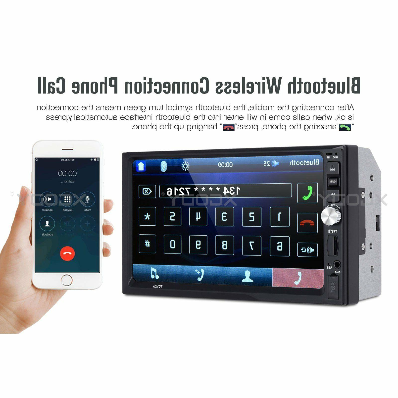 "7"" Car Stereo Radio MP5 Link 2 DIN + US"