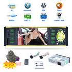 7 Color Light Bluetooth Car MP3 MP5 Player FM Stereo Radio A