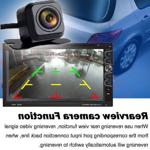 """7"""" Double Car DVD Radio Bluetooth with"""