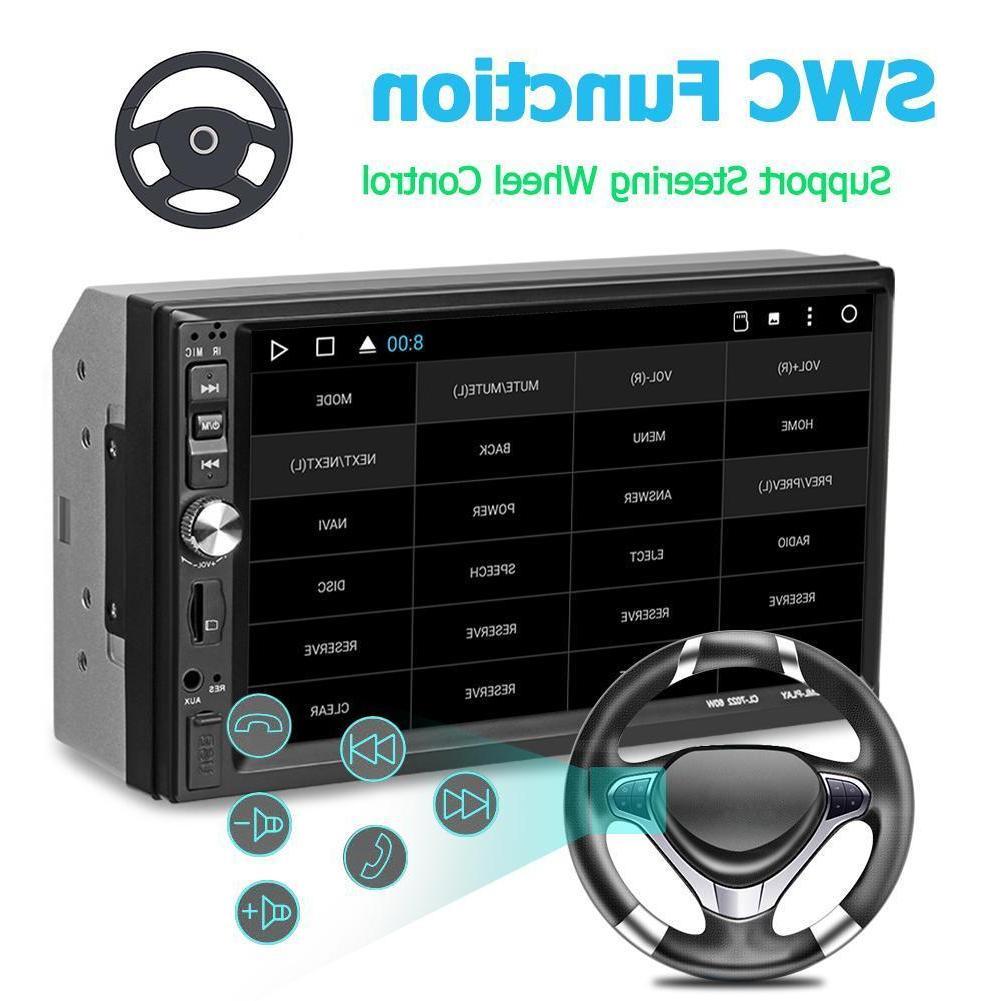 7Inch 2Din HD Car Player Bluetooth FM USB