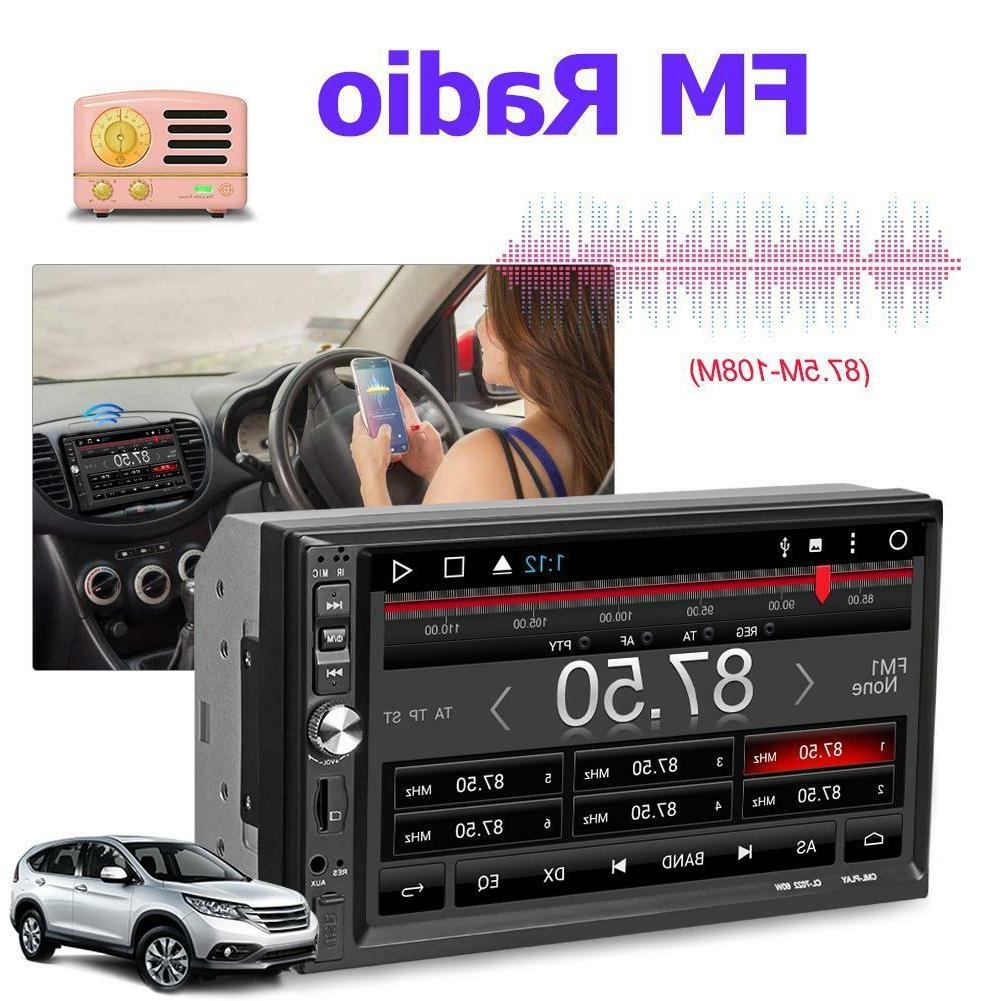 7Inch HD Car Player Bluetooth USB